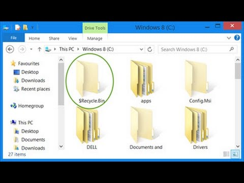 Clear Hidden Junk/Temp Files from All Drives in Windows 10/8 1/7