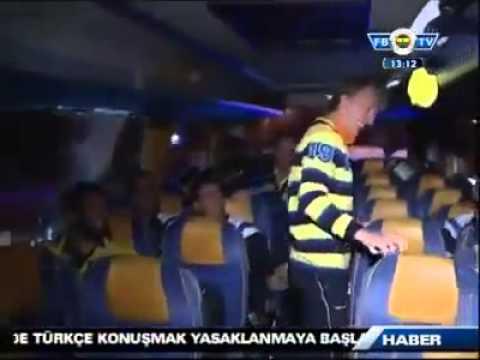 Fenerbahce Takim Otobüsünde Gangnam Style