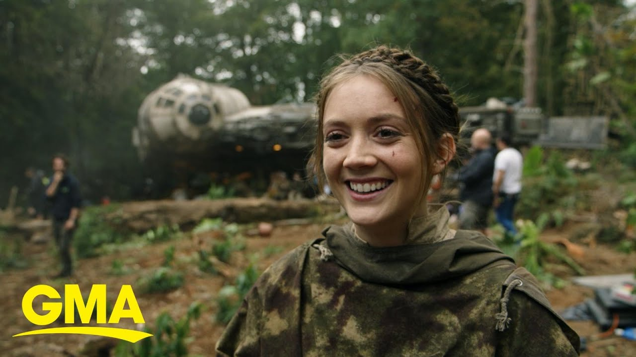 Billie Lourd Talks About Her Mom Carrie Fisher In New Star Wars Documentary L Gma Youtube