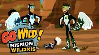 Repeat youtube video Go Wild! Mission Wildnis - Angriff der Stinktiere - Folge 21