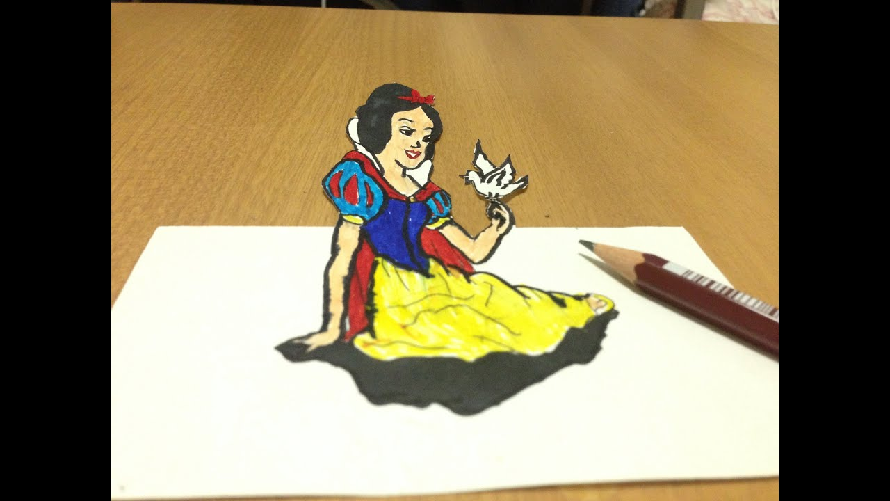 Disney Princesses Pop Art Featuring Snow White Cinderella