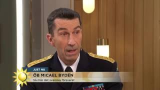 """ÖB om ryska plan: """"Situationen är oberäknelig, saker kan hända"""" - Nyhetsmorgon (TV4)"""