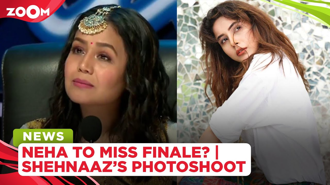 Neha Kakkar to miss finale of singing reality show? | Shehnaaz stuns in new photoshoot