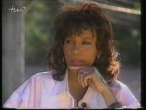 German 1995 Whitney Houston interview