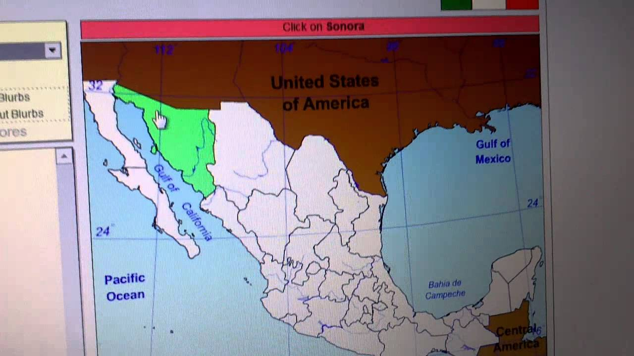 Sheppard SoftwareGeography Mexico YouTube - Sheppard software us map