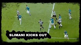 Slimani kicks out & analysing the goal | Newcastle United 0-1 West Brom