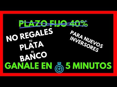¿ Como GANAR al PLAZO FIJO Del BANCO NACION ?  ⚡FÁCIL Y RÁPIDO⚡