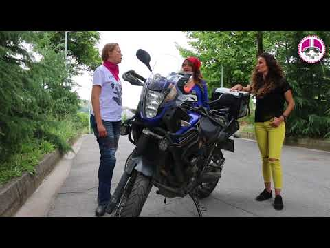 Şebnem Şengül - Benim Motosikletim: Yamaha XTZ Z Tenere - Pembe Teker