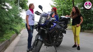 Şebnem Şengül - Benim Motosikletim: Yamaha XTZ 660Z Tenere - Pembe Teker
