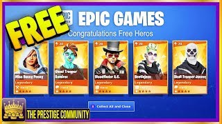 How To Get BEST LEGENDARY HEROES For FREE On Fortnite Save The World! (March 2019) [Season 8]