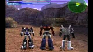 Transformers Autobot Stage 1-1 (PS2 Japan)