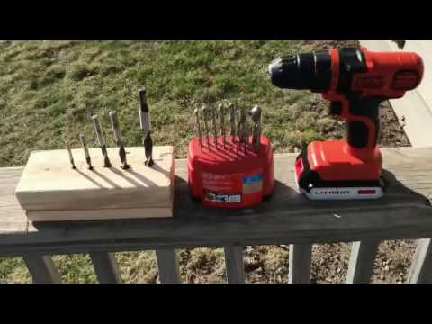 Review of the Black & Decker lithium Max 20v Drill - BEST CH