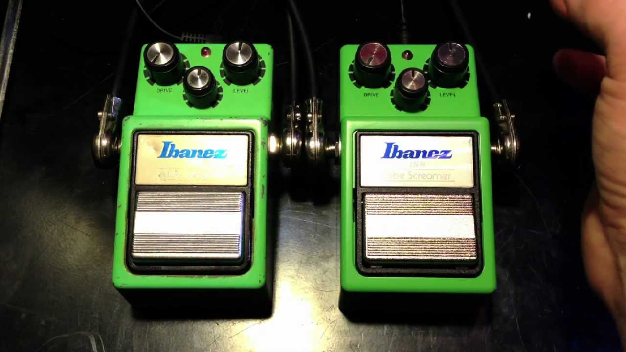Vintage Ibanez Ts9 Vs New Ibanez Ts9 Tube Screamer