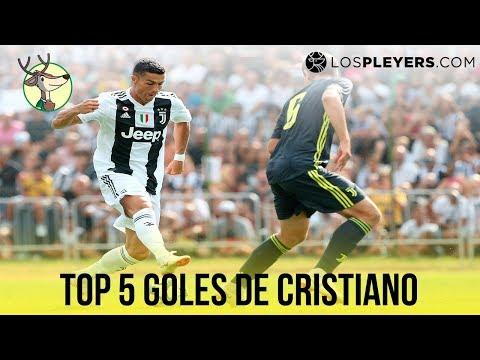 Top 5 Goles de Cristiano Ronaldo