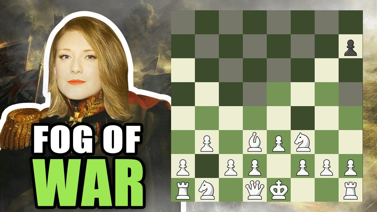 Can I play chess WITHOUT SEEING my opponent's pieces?!