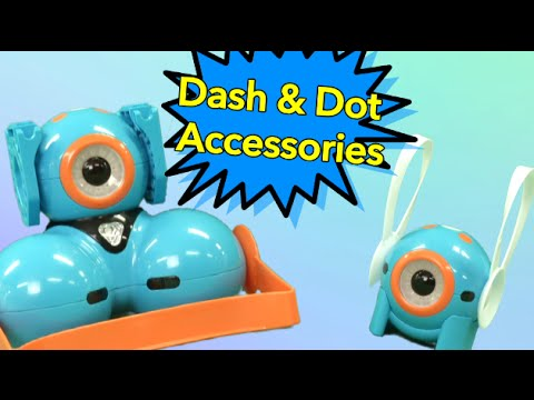 Dash & Dot Building Brick Connectors, Smartphone Mount, & Accessory Pack From Wonder Workshop