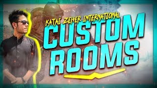 🔴PUBG MOBILE Live Streaming | International Custom Rooms | Pakistan/India | #RoadTo10KSubs