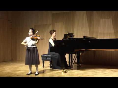 Hoffmeister Viola concerto in D Major 1st mvt by Ella Park, 앤클래식 비올라 앙상블, 비올라