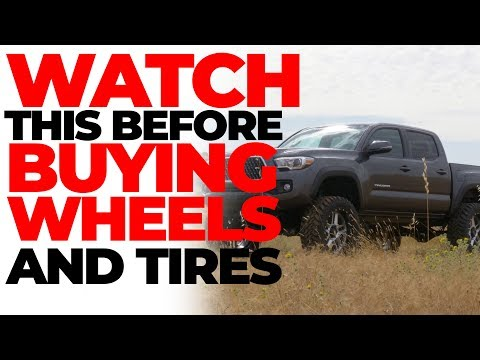 WATCH THIS BEFORE YOU BUY WHEELS AND TIRES!