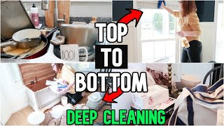 DEEP Cleaning My House | MESSY House Clean With Me 2019 | SAHM Motivation