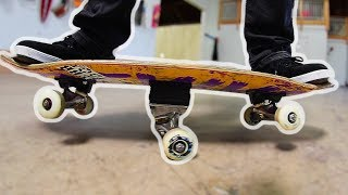 "Today we try out a user suggested creation of the ""See Saw"" skatebo..."