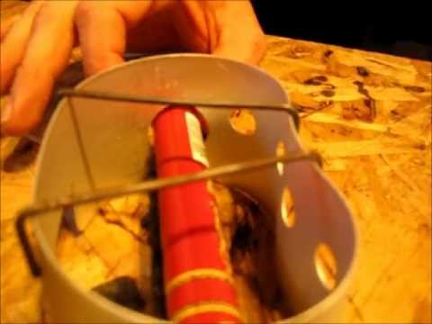CIGAR TUBE ALCOHOL STOVE MOD AND BUILD