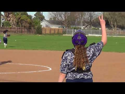 Kimball vs. Tracy West 3062018 Ari nice leadoff hit