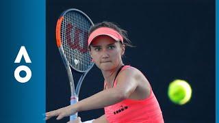 Lauren Davis v Jana Cepelova match highlights (1R) | Australian Open 2018