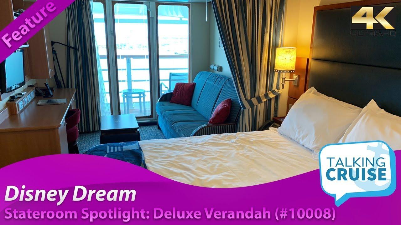 Disney Dream Deluxe Verandah Stateroom 10008 Youtube