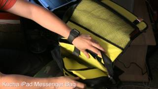 Namba Gear - Kucha iPad Messenger Bag Review with Dj Michael Trance