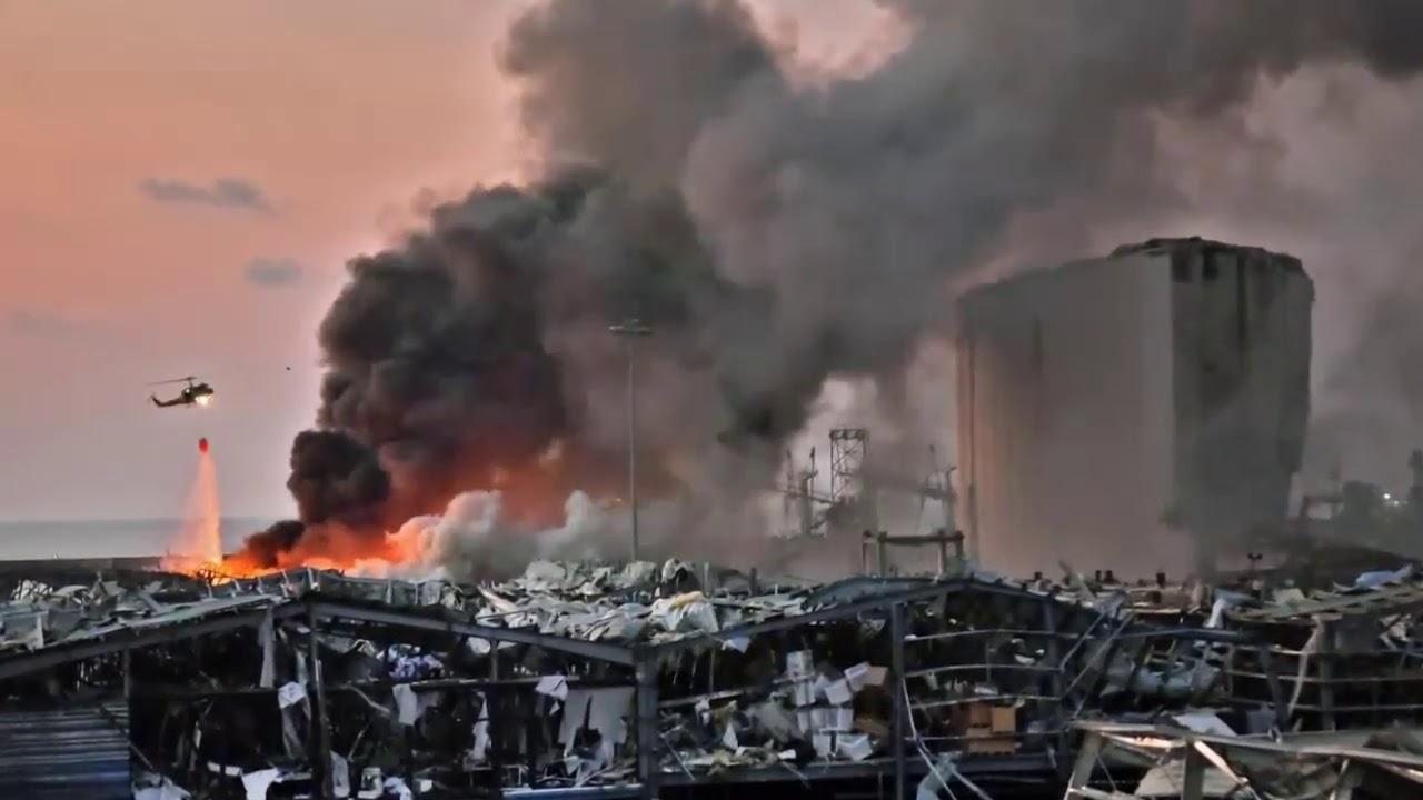 انفجار بيروت.... قلوبنا معكم