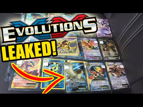NEW XY12 EVOLUTIONS Cards LEAKED! - Mega Pidgeot EX ...