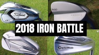 2018 IRON BATTLE! - Ping i500 vs Taylormade P790 vs Titleist AP3 vs Mizuno JPX 919 FORGED