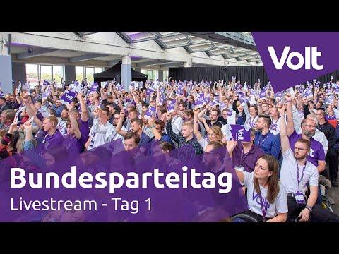 Volt Bundesparteitag 7.9.2019 Leipzig Tag 1 | #VoltBPT19 #leipzigwirkommen #VoteVolt