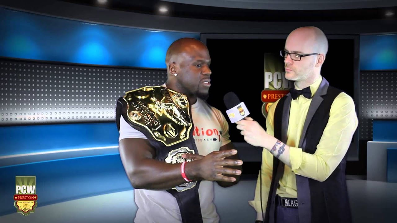 WWE NXT's Apollo Crews (Uhaa Nation) thoughts on Chris Masters