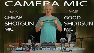 Cheap SHOTGUN MICROPHONES and More...   Great GIFT IDEA?