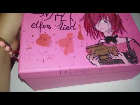 Elfen Lied Real Music Box created by me❤