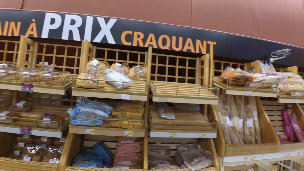 In a french supermarket: supermarket vocabulary