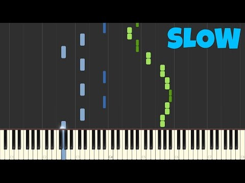 Chopin - Spring Waltz [SLOW Piano Tutorial] [50% speed] (Synthesia/Sheet Music)