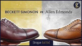 Beckett Simonon vs Allen Edmonds | Strand, Fifth Avenue, Durant (Shoes Review)