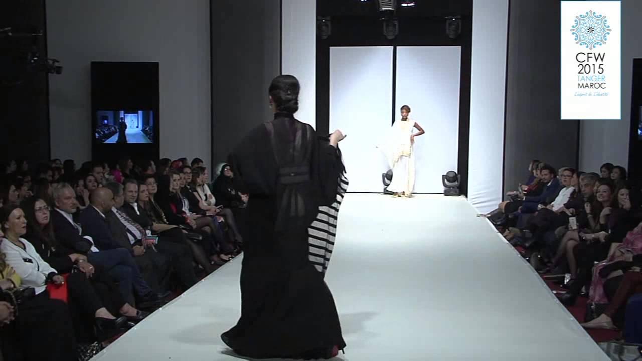 KUBRA AL QASEER Morocco Fashion Show - YouTube