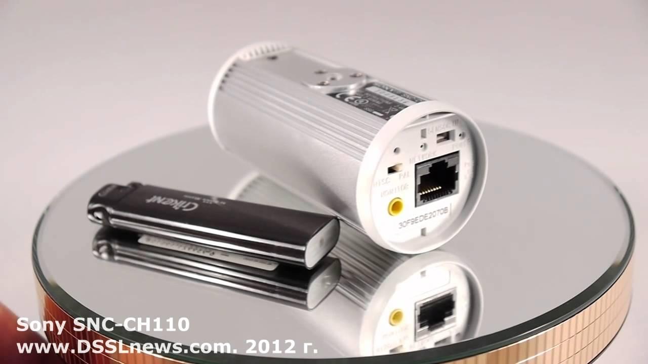 схема подключения ip камер snc-ch160