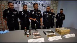 7 penuntut kolej ditahan kes dadah