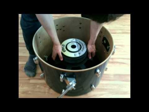 Infrasonic (sub-audible) resonant sub-woofer & boom bass cannon