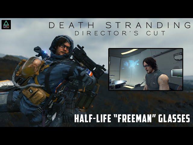 "Death Stranding Director's Cut: Half-Life ""Freeman"" Glasses"
