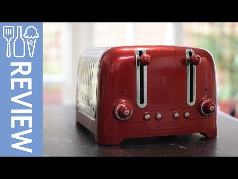 Dualit Lite 4-Slice Toaster with Warming Rack, Metallic Red Review/Overview