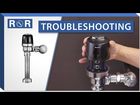 Troubleshooting A Sloan Optima Flushometer | Repair And Replace