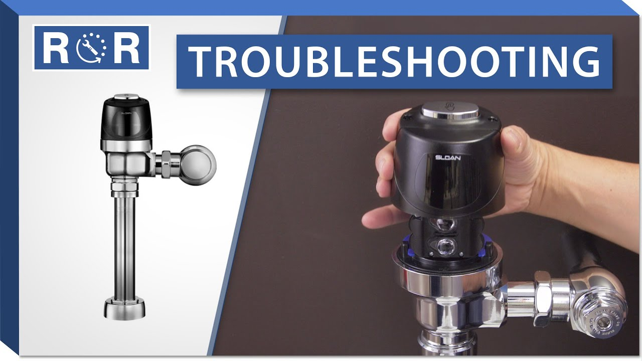 Troubleshooting a Sloan Optima Flushometer | Repair and Replace ...