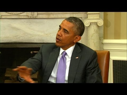 Obama: US 'looking at all options' as crisis unfolds in Iraq