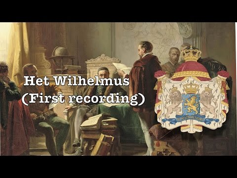 National anthem of the Netherlands(first recording 1899):